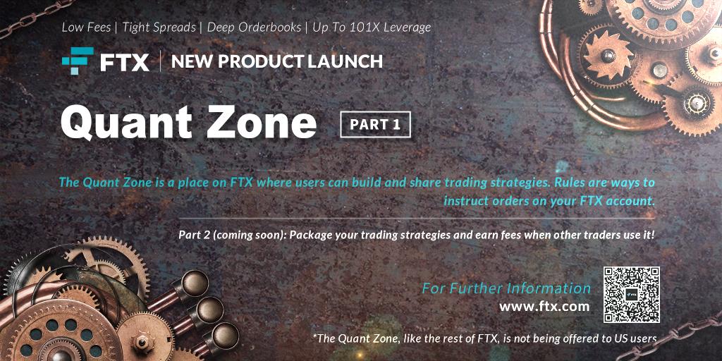 「FTX」ユーザーが取引戦略を構築および共有できる[Quant Zone]をリリース