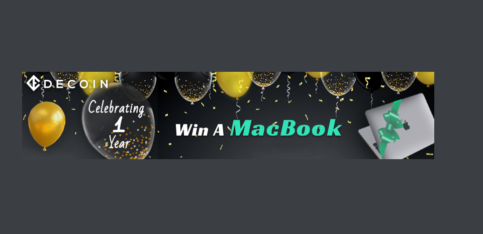 「DECOIN」最新のMackBook Pro13インチが当たるプロモーション