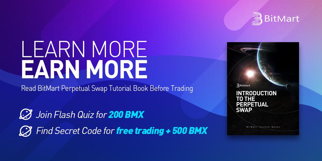 「BitMart」BitMart Futuresのクイズに答えてBMXをゲットしよう!
