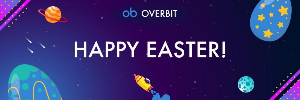 「Overbit」卵を割って毎日無料のボーナスBTCを獲得するチャンス!