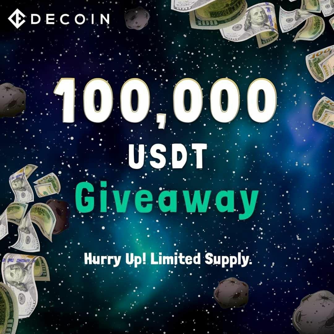 「DECOIN」史上最大級!賞金100,000ドルのイベントを開催!