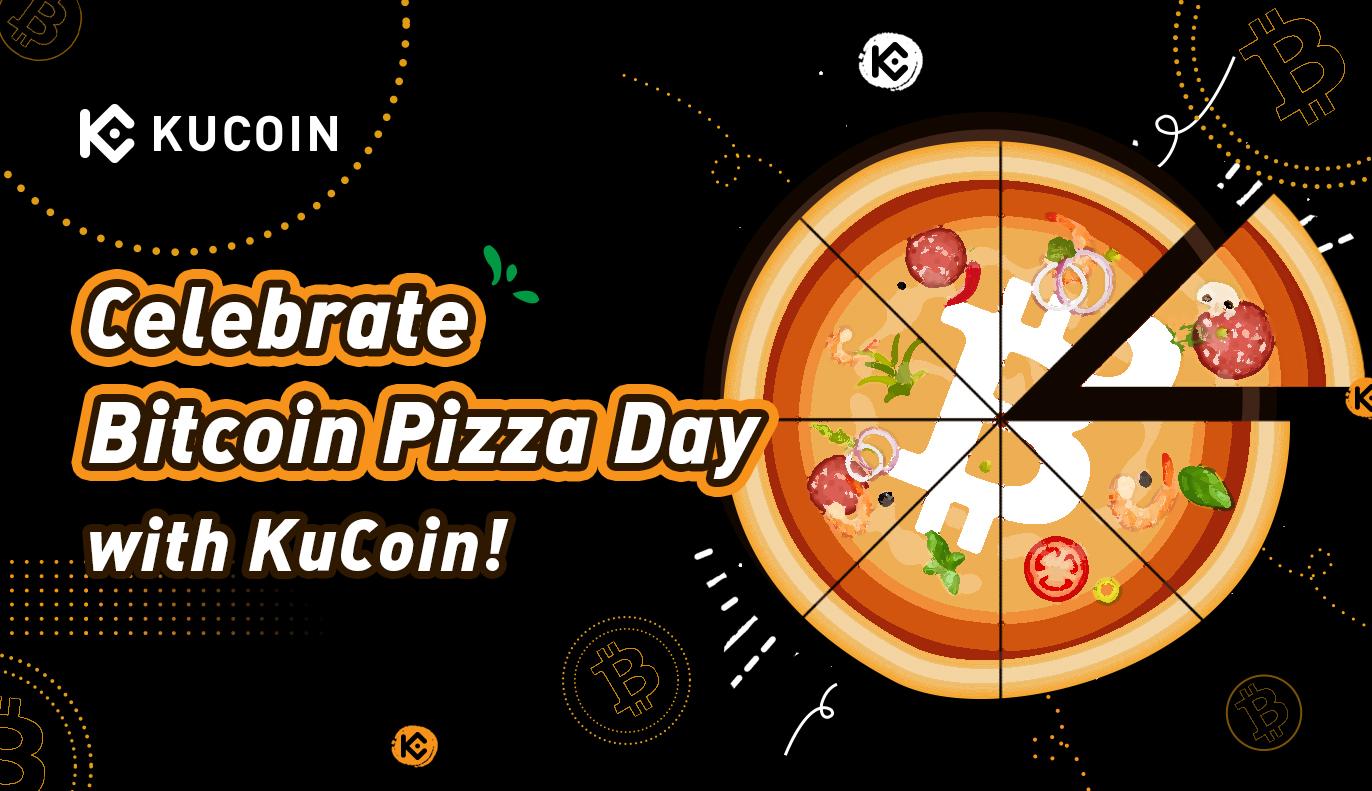 「KuCoin」10回目の Bitcoin Pizza Day 記念イベント