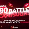 「Koindex」Pledge90バトル キャンペーン!!参加者全員に特典!賞金10万ドル相当‼️